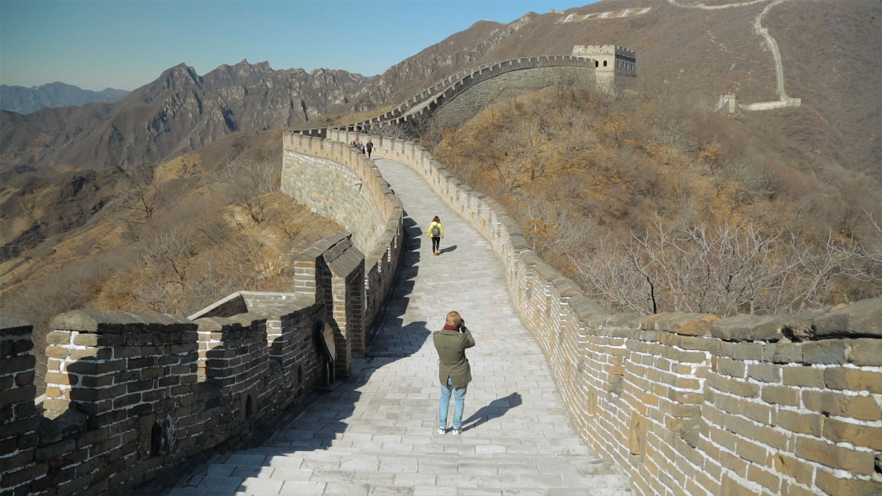 On Top of The Great Wall of China with the Gweilo | ANYDOKO