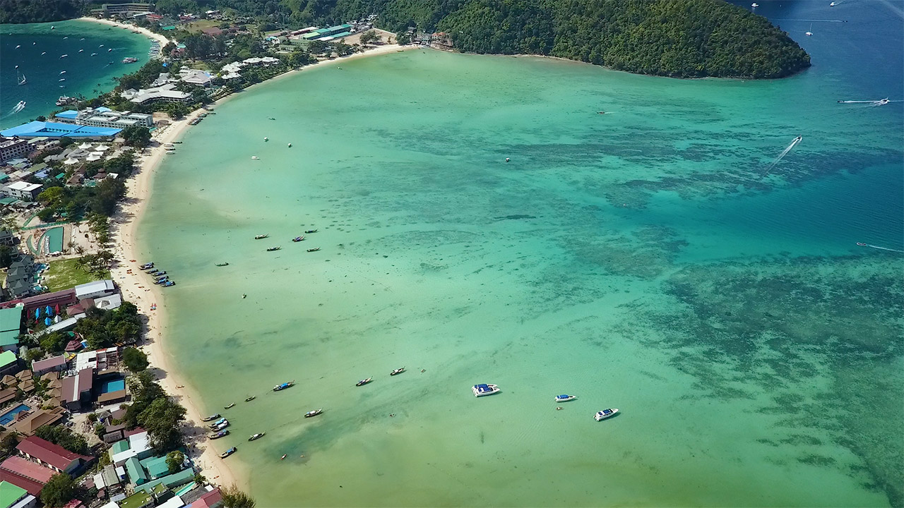 Phi Phi From Above | Thai Islands Drone | ANYDOKO | Thailand Travel Video