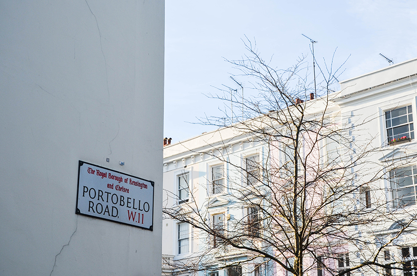 Portobello Road Street Sign
