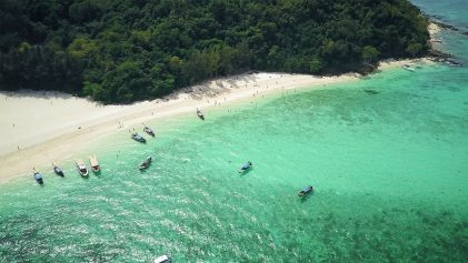 Phi Phi Islands Drone Image | Phi Phi Islands Must Do's | Thailand Travel Video | ANYDOKO