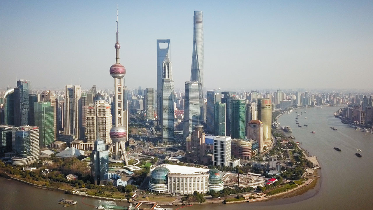 Shanghai Skyline | Shanghai From Above | China Travel Video | ANYDOKO
